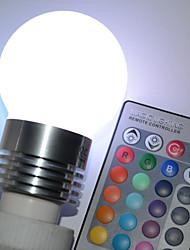 abordables -450lm E26 / E27 Ampoules Globe LED G45 5 Perles LED LED Haute Puissance Commandée à Distance RVB 100-240V