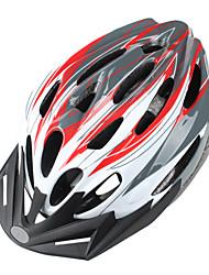 Недорогие -Открытый Велоспорт MTB шлем с Sunvisor (24 отверстия)