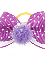 cheap -Cat Dog Hair Accessories Hair Bow Dog Clothes Purple Red Green Blue Pink Costume For Pets