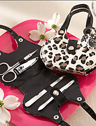 cheap -Fashion Leopard Design Manicure Set Wedding Favor (4 Pieces)