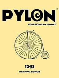 billige -PYLON - (1602) Rustfrit stål Acoustic Guitar Strings (012-053)