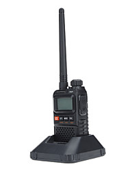 UHF 400-470MHz VHF 136-174MHz Talkie Walkie con allarme di emergenza (VOX / fm Radio Built-in)