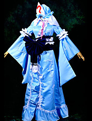 Недорогие -Вдохновлен Проект Тоухоу Yuyuko Saigyouji видео Игра Косплэй костюмы Косплей Костюмы Пэчворк Кофты