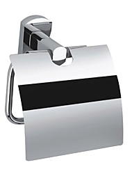 Porte Papier Toilette / Chrome Contemporain