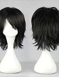Недорогие -Косплей Kaoru Kaido Муж. 12 дюймовый Термостойкое волокно Черный Аниме Косплэй парики