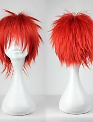 Недорогие -Косплэй парики Косплей Akashi Seijyuurou Красный Аниме Косплэй парики 12 дюймовый Термостойкое волокно Муж. Хэллоуин парики