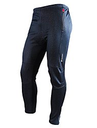 cheap -Nuckily Cycling Pants Men's Bike Pants/Trousers/Overtrousers Bottoms Thermal / Warm Wearable Breathable Spandex Polyester Fleece Solid