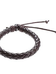 cheap -Z&X®  Single Color Cow Leather Cord Bracelet