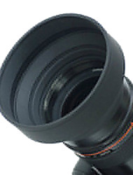 52mm Rubber Lens Hood for Wide angle, Standard, Telephoto Lens