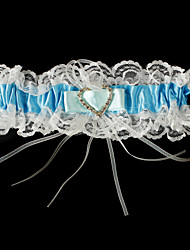 cheap -Lace Stretch Satin Classic Wedding Garter with Garters Special Occasion