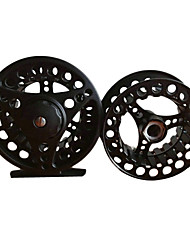 cheap -Fishing Reel Fly Reels 1:1 3 Ball Bearings Left-handed Exchangable Right-handed Fly Fishing