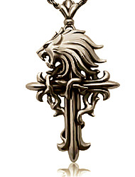 Jewelry Inspired by Final Fantasy Cloud Strife Anime/ Video Games Cosplay Accessories Necklace Golden Alloy Male