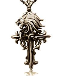 Gioielli Ispirato da Final Fantasy Cloud Strife Anime/Videogiochi Accessori Cosplay Collane Oro Lega Uomo