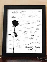 cheap -Personalized Signature Canvas Frame - Rose (Includes Frame)