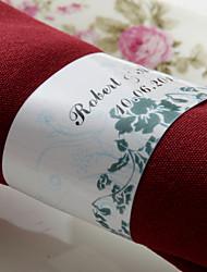 personalizirane papirnati ubrus prsten - lijepo cvijeće (set od 50) (set od 50)