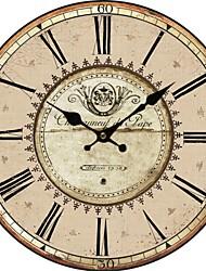 País Euro Relógio de parede