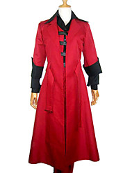 cheap -Inspired by Devil May Cry Dante Video Game Cosplay Costumes Cosplay Suits Patchwork Long Sleeves Vest Pants Gloves Underwear Belt Cloak