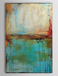 cheap -Hand-Painted Abstract Vertical,Traditional One Panel Oil Painting For Home Decoration