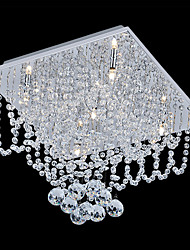povoljno -SL® Flush Mount Downlight - Crystal Mini Style, Modern / Comtemporary, 110-120V 220-240V Bulb Included