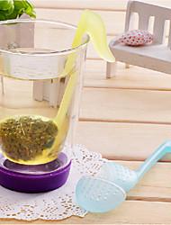 Phonetic Symbol Shaped Tea Leaves Strainer Filter (Random Color)