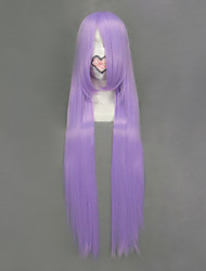 cheap -Cosplay Wigs Cosplay Saori Kido Purple Long Anime Cosplay Wigs 100 CM Heat Resistant Fiber Female
