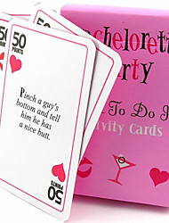 Baby Shower / Valentine / Christmas / Birthday Party Favors & Gifts-1Piece/Set Other Favor Non-personalised Pink