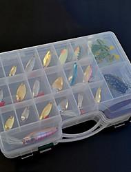 138 pc Esche rigide Esche morbide Mosche Confezioni di esche EscaMatita Vibrazione Esca metallica Cucchiai Esche rigide Jig Manovelle