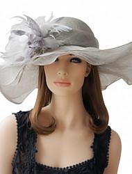 economico -Bella Lino con piuma Cappelli Occasioni speciali (altri colori)