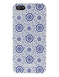 Til iPhone X iPhone 8 iPhone 8 Plus iPhone 5 etui Etuier Mønster Bagcover Etui Blomst Hårdt PC for iPhone X iPhone 8 Plus iPhone 8 iPhone