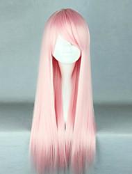 Недорогие -Парики для Лолиты Сладкое детство Розовый Лолита Парики для Лолиты 28 дюймовый Косплэй парики Однотонный Парики Хэллоуин парики