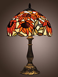 cheap -Tiffany-style Sunflowers Bronze Finish Table Lamp(0923-TF3)