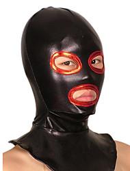 economico -Maschera Ninja Costumi Zentai Costumi Cosplay Nero Collage Maschera Metallizzato Unisex Halloween
