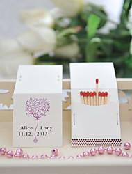 Karton Hochzeits-Dekorationen-50Stück / Set Personalisiert Spiele sind nicht enthalten.