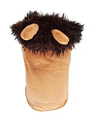 Dog Hoodie Dog Clothes Cosplay Animal Brown Costume For Pets