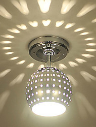Flush Mount ,  Modern/Contemporary Electroplated Feature for LED Mini Style Metal Living Room Dining Room Entry Hallway