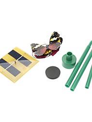 Недорогие -Бабочки на солнечной батарее, различные цвета, 2 бабочки в комплекте