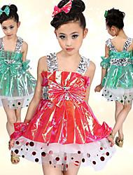 abordables -Ballet Vestidos Plástico Lentejuela / Lazo(s) Cintura Media / Desempeño