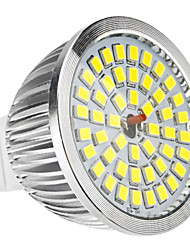 6W GU5.3(MR16) LED Spotlight MR16 48 SMD 2835 500-600lm Natural White 6500K DC 12 AC 12V