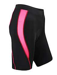 SANTIC Cycling Padded Shorts Women's Bike Shorts Padded Shorts/Chamois Bottoms Quick Dry Wearable Breathable Spandex Nylon Coolmax Stripe