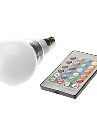 cheap -3W 1600-1700lm B22 LED Globe Bulbs LED Beads High Power LED Remote-Controlled 85-265V 220-240V