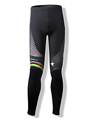 SPAKCT Cycling Tights Women's Men's Unisex Bike Tights Pants/Trousers/Overtrousers BottomsBreathable Thermal / Warm Quick Dry Windproof