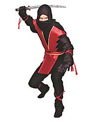 Недорогие -Ужасный Ninja взрослых Хеллоуин костюм
