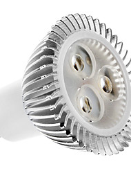 GU10 LED Spotlight MR16 3 High Power LED 320lm Warm White 2700K AC 100-240V