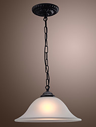 cheap -Max 60W Traditional/Classic / Bowl Mini Style Bronze Pendant Lights Living Room / Bedroom / Kitchen