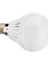 Недорогие -daiwl e14 3w 220-250lm 6000-6500k натуральный белый свет привел мяч лампу (220-240)