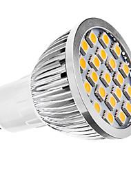 GU10 Lâmpadas de Foco de LED MR16 21 leds SMD 5050 Branco Quente 3500lm 3500KK AC 220-240 AC 110-130V
