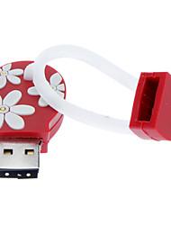 preiswerte -8GB Soft Rubber Flip-Flops USB Flash Drive
