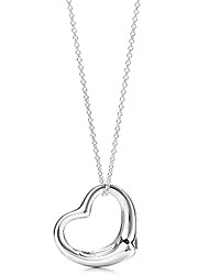 cheap -Women's Heart Pendant Necklace - Love European Heart Necklace For Party