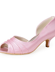 Wedding Shoes - Saltos - Peep Toe - Rosa - Feminino - Casual