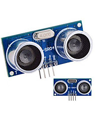 cheap -Ultrasonic Sensor HC-SR04 Distance Measuring Module - Blue + Silver